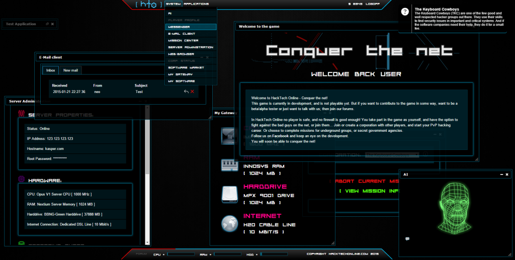 Screenshot of Alpha 003